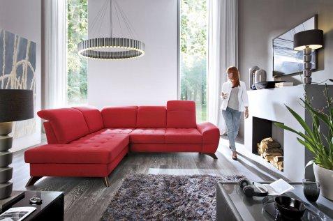 Kulmasohva-punainen