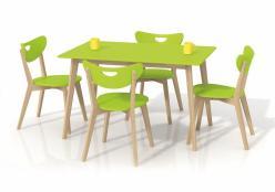 Pöytä-Lime-vihreä