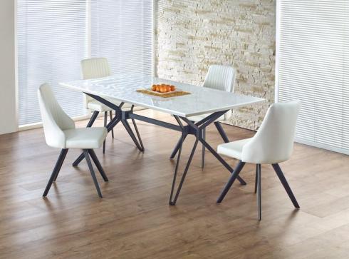 Pöytä-rauta-valkoinen