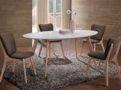 Pöytä-valkoinen-ruskea