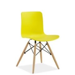 Tuoli-keltainen-muovi