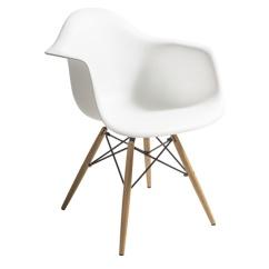 Tuoli-muovi-valkoinen