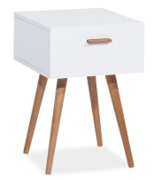 Yöpöytä-valkoinen